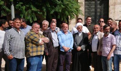 إعتصام في بعلبك احتجاجًا على مكان بناء مركز المحافظة