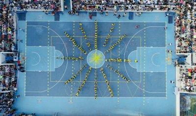 المدرسة الانطونية الدولية في عجلتون أحيت مهرجانها الرياضي بحضور الدكاش