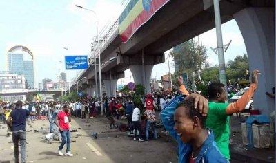 إنفجار يستهدف مسيرة مؤيدة لرئيس الوزراء الإثيوبي