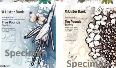 """أوراق نقدية """"غير مسبوقة"""" في بريطانيا"""