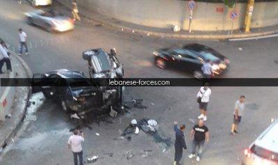 خاص بالصور: حادث سير مروع في مزرعة يشوع