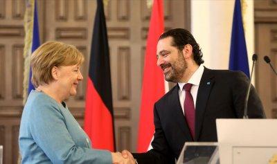 """الحريري : بإمكان ألمانيا أن تلعب دورًا في تنفيذ رؤية """"سيدر""""… وميركل تدعو الى اصلاحات اكثر جذبًا"""