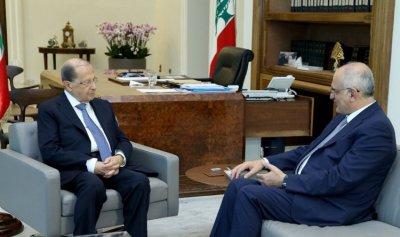 رئيس الجمهورية عرض الاوضاع الاقتصادية مع وزير المالية