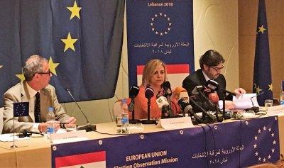 تقرير بعثة الاتحاد الأوروبي عن الانتخابات: توصيات عن الكوتا النسائية واقتراع العسكريين وخفض سن التصويت