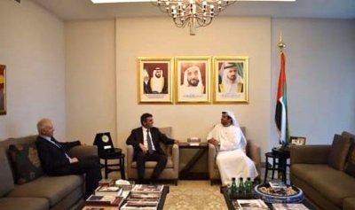 كرم والحواط يلتقيان سفير الامارات في لبنان