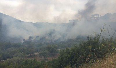 حريقان في البترون والدفاع المدني يعمل على اخمادهما
