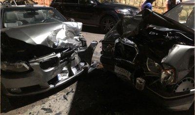 جريحان بحادث سير في بلدة بلاط