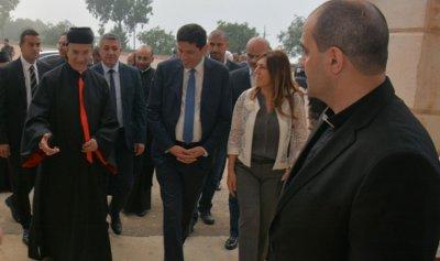 الراعي ينتقل الى المقر البطريركي الصيفي في الديمان