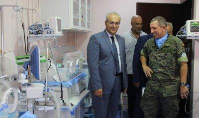 المملكة الإسبانية تبرعت بمعدات طبية لمستشفى ميس الجبل