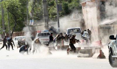 كابل تستفيق على صواريخ القصر الرئاسي