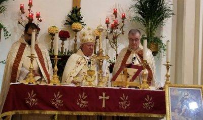 مطر ترأس قداس عيد مار روكز: كلنا مدعوون الى القداسة حتى السياسي والتاجر