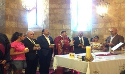 قداس في كفرعبيدا لراحة أنفس شهداء المقاومة اللبنانية