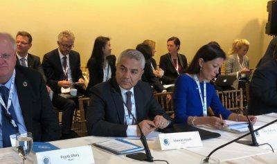 الحايك يشارك في أعمال قمة الميثاق العالمي للأمم المتحدة لقادة الأعمال