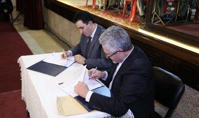 """بروتوكول تعاون بين """"مؤسسة وديع الحاج"""" و""""لابورا""""… الحاج: سنقاوم لخدمة الانسان"""