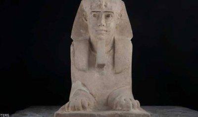 أبو الهول يظهر في جنوب مصر