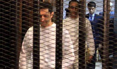 أمر بالقبض على نجلي حسني مبارك