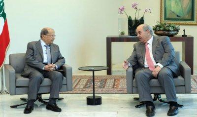 الرئيس عون يعرض مع الرئيس علاوي العلاقات بين لبنان والعراق