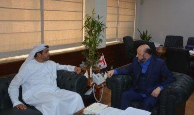 الرياشي إستقبل سفيري الإمارات وفرنسا