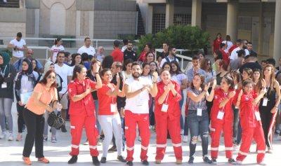 جامعة الروح القدس ورابطة كاريتاس لبنان نظمتا المؤتمر العالمي للسلام والشبيبة