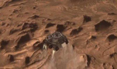 """بالفيديو – لأول مرة: بث مباشر لـ""""ناسا"""" على المريخ"""