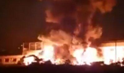 بالفيديو: حريق في سن الفيل