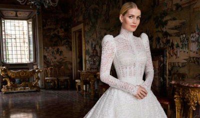 بالصور ـ ابنة شقيق الأميرة ديانا تتزوج من الملياردير مايكل لويس