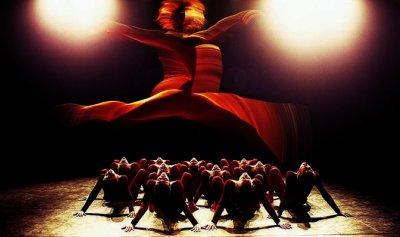 افتتاح مهرجان الرقص الدولي في موسكو