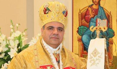 المطران ابراهيم: لا أخشى على مسيحيي لبنان
