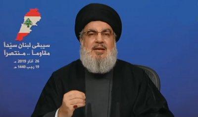 نصرالله: يا سيد بومبيو إسرائيل وضعت الشعب اللبناني في خطر