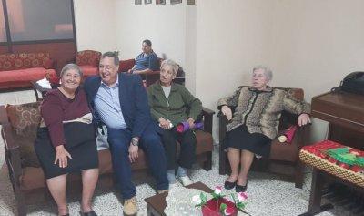 بالصور: عاقل زار دار العجزة  – للسريان