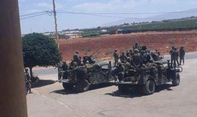 الجيش يداهم منازل في الحمودية