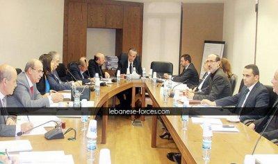 لجنة الادارة تتابع تعديل انشاء التفتيش المركزي