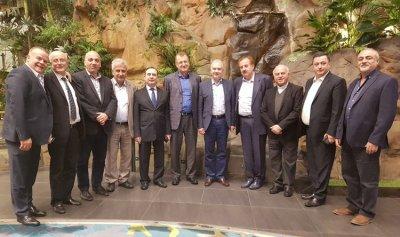 """""""المؤسسة الإعلامية للشرق الأوسط"""" في سيدني أقامت عشاء على شرف كرم"""