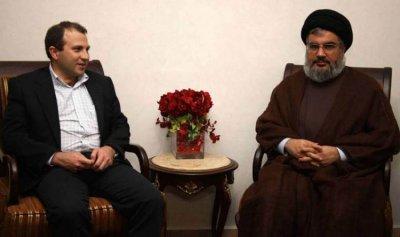 حزب الله لا يتجاوب مع مسعى باسيل