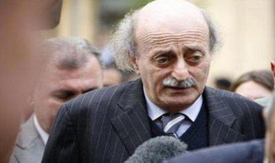 جنبلاط ثمن دعم مصر للبنان
