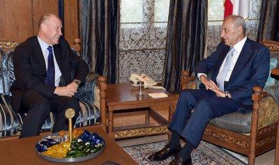 بري استقبل سفيري اوستراليا والارجنتين الفرزلي: الأوضاع تتطلب تأليفا سريعا للحكومة