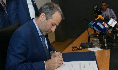 باسيل: لتنظيم الدخول الى لبنان