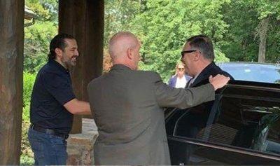 الحريري يلتقي بومبيو في مزرعته قرب واشنطن