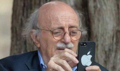 """جنبلاط يقاطع """"التواصل الاجتماعي"""""""
