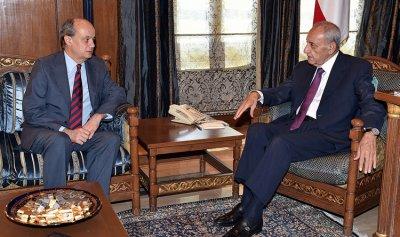 بري استقبل سفير إسبانيا الجديد وسفير لبنان في ألمانيا