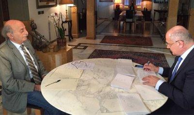 رسالة من جنبلاط إلى مارسيل غانم عمرها 170 سنة
