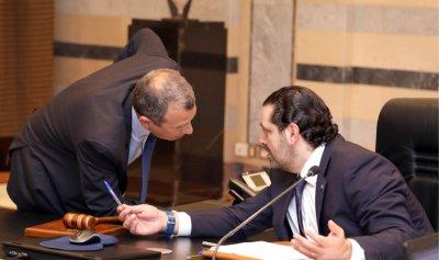 الحريري إلتقى باسيل في باريس