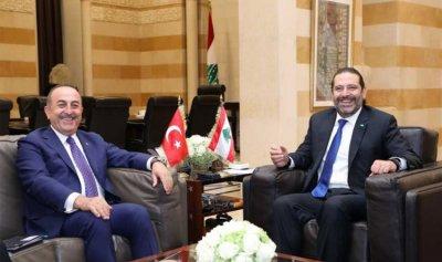 الحريري أبلغ أوغلو رفعه الحظر عن بعض المنتجات التركية