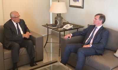 سليمان استقبل شورتر وكارين: وحدة اللبنانيين حول رفض التوطين أقوى سلاح