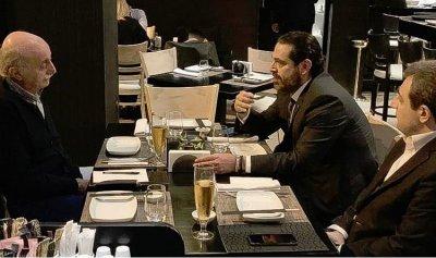 الطبق الحكومي على مائدة الحريري وجنبلاط؟