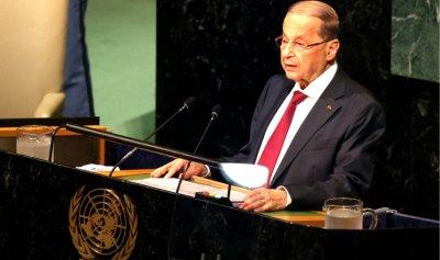 عون سيشدد من الأمم المتحدة على التزام لبنان 1701