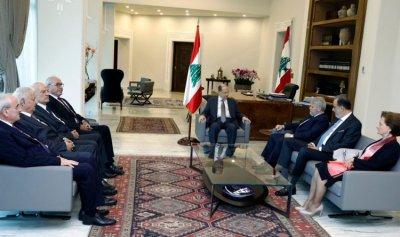 عون إلتقى وفد المجلس الأرثوذكسي والخازن ومشاركين في HORECA