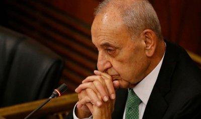 بري أبرق الى السيسي مستنكرا الهجوم الارهابي في سيناء