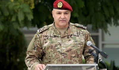 قائد الجيش: لا تسمحوا للتجاذبات السياسية بثنيكم عن أداء مهامكم