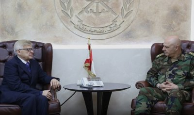 قائد الجيش استقبل زاسبيكين والخطيب وشقير وبصبوص والمطران رحال